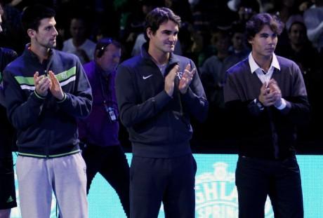 Roger Federer warned Rafael Nadal Novak Djokovic e1342463547198