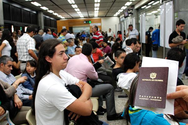 oficina de pasaportes de antioquia
