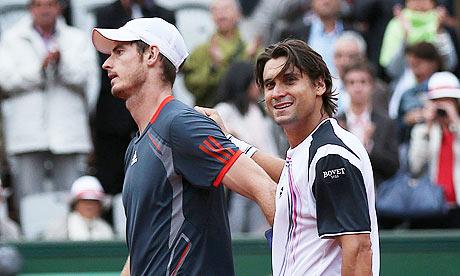 DAvid Ferrer, Andy Murray