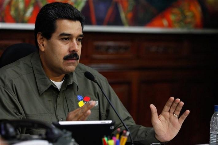 Fotografía cedida por el Palacio de Miraflores que muestra al presidente venezolano, Nicolás Maduro. EFE/Archivo
