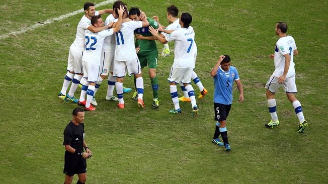 Italia venció a Uruguay en tiros desde el punto penal y se quedó con el tercer lugar de la Copa Confederaciones Brasil 2013