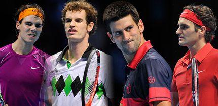 los 4 grandes del tenis h