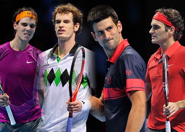 los 4 grandes del tenis