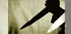 asesinato cuchillo