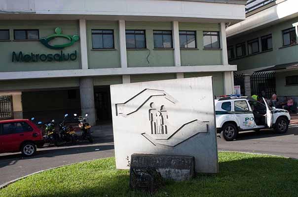 Foto: A este centro fue trasladada la víctima Dorys Valencia.