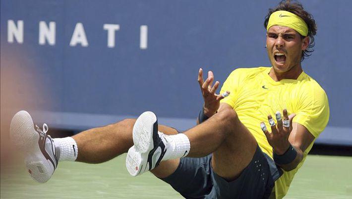 El tenista español Rafael Nadal, ganador ayer del Master de Cincinnati. EFE