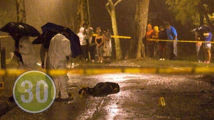 Sicarios dispararon a la cabeza del hombre, con un arma con silenciador   Foto: Minuto30.com