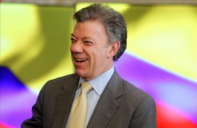 Santos pronostica un triunfo de Colombia por 2-0 ante Ecuador En la imagen, el presidente de Colombia, Juan Manuel Santos. EFE/Archivo
