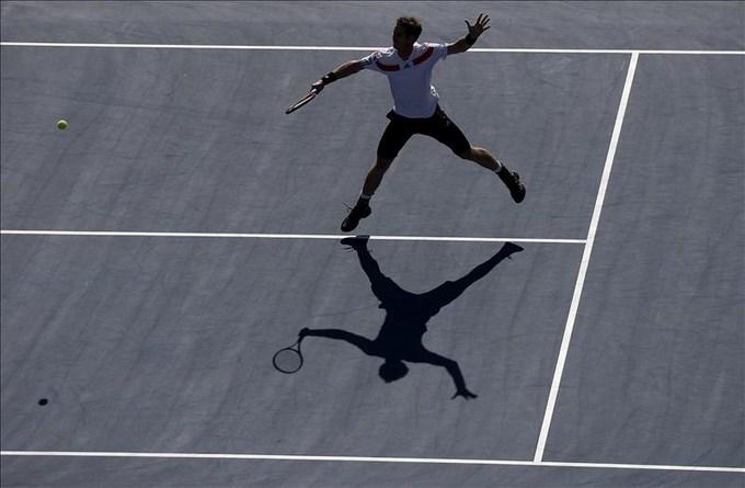 Murray en Master de tenis. Foto EFE.