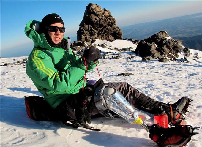 Nelsón Cardona montañista colombiano. Foto EFE.