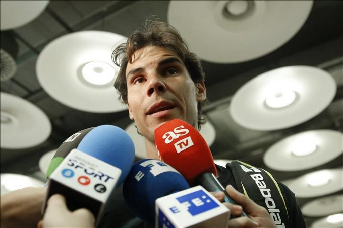 Rafael Nadal tenista español. Foto . EFE