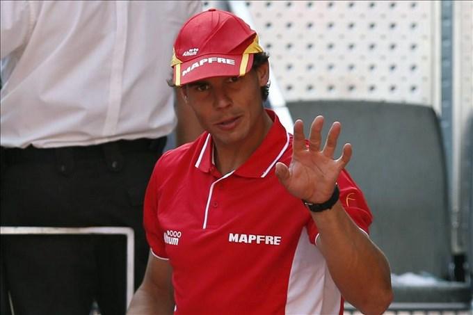 Nadal muestra su apoyo a los afectados en Acapulco El tenista español Rafael Nadal. EFE/Archivo