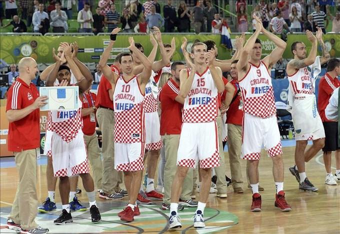 Croacia y Lituania jugarán la semifinal. EFE.