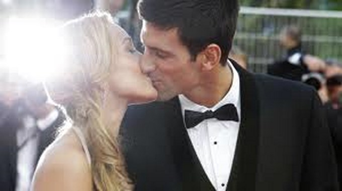 djokovic y novia Copiar