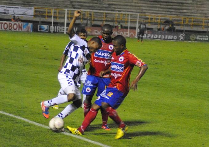 Pasto venció a Chicó. fecha 12 Clausura.