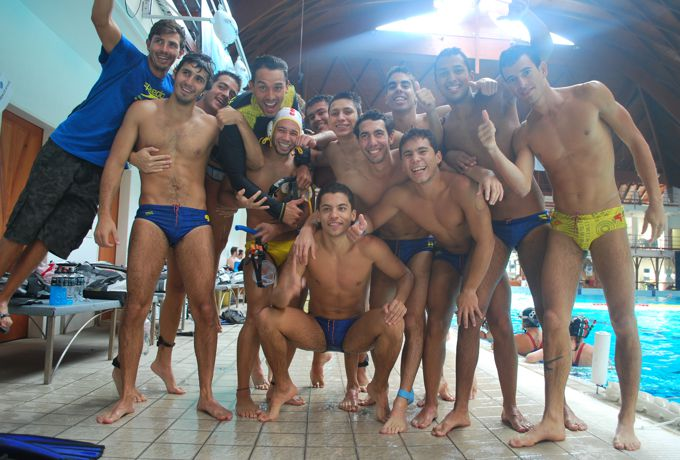 Selección Colombia masculina sub 23 de Hockey Subacuático.