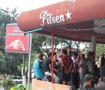 Sitio de la masacre del dia del Amor y la Amistad en Robledo Miramar
