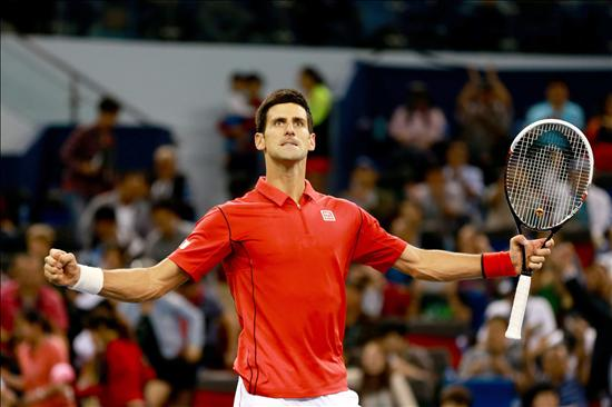 Novak Djokovic gana por segundo año consecutivo el Abierto de Shangai. EFE