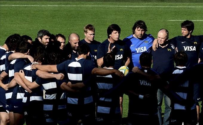 Santiago Phelan renuncia como técnico de la selección argentina de rugby. EFE.