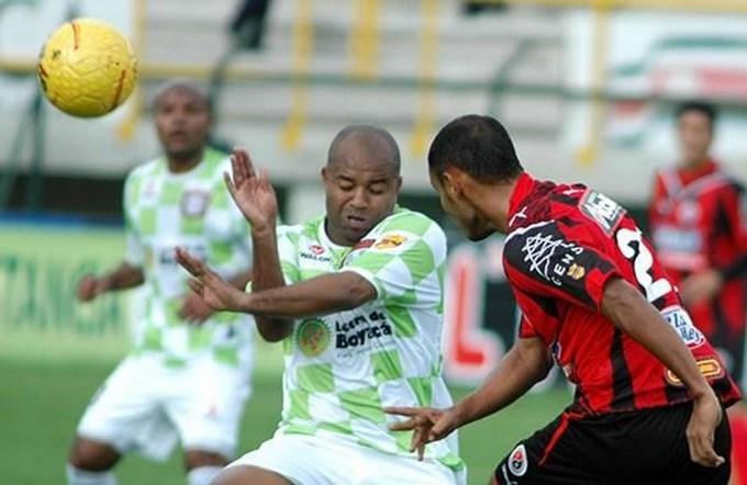 Chicó venció al Cúcuta. Fecha 13 Liga Postobón. Foto archivo