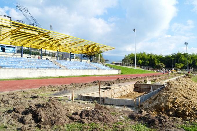 En un 50% se han ejecutado trabajos en escenarios deportivos que albergarán los Jedecac 2013