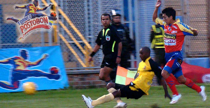 Pasto venció Alinza. Fecha 13 Liga Postobón. Foto archivo