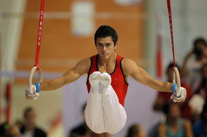 Jossimar Calvo en los Juegos Nacionales 2012. Foto: Coldeportes