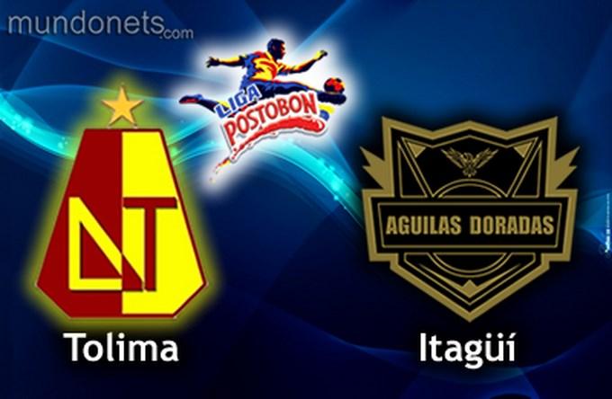 El Tolima,  las águilas doradas, empaté, El Itagüí, dejo escapar de su casa dos puntos, Liga Postobón. EFE.