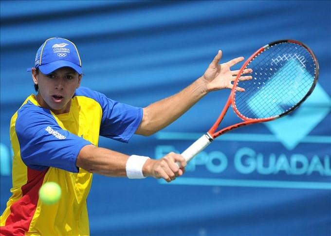 "El colombiano González va a semifinal de ATP Challenger Tour y celebra ""top 100"". EFE."