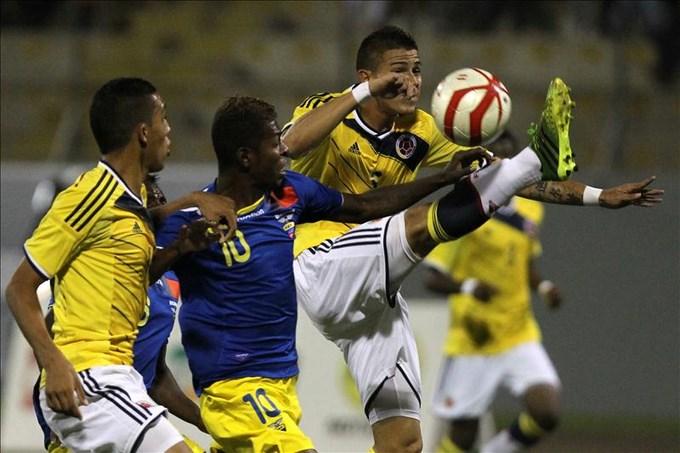 Colombia se acerca a Venezuela, que sigue dominando en el medallero general. EFE.
