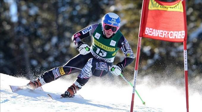 Stacey Cook dominó el segundo entrenamiento para el descenso de Beaver Creek. EFE.