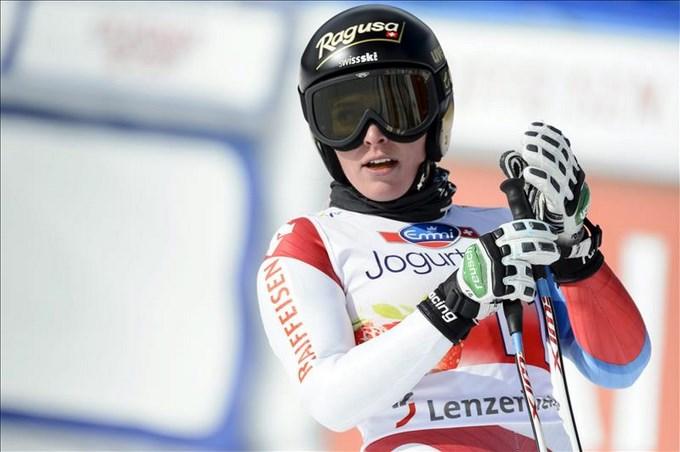 La suiza Lara Gut gana descenso Beaver Creek y se aupa la primera plaza general. EFE.