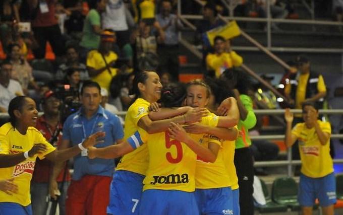 Colombia campeona Mundial Femenina Fútbol de Salón.