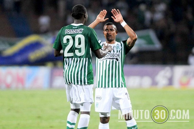 Nacional quedó primero en la tabla de clasificación del fútbol colombiano. EFE