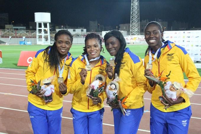 Colombia campeona de Los Juegos Bolivarianos por primera vez.