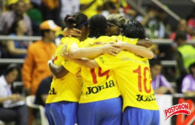 Colombia goleó a Marruecos en mundial de Fútbol de salón. Foto Información Postobón.