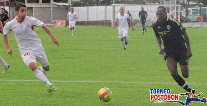 Fortaleza 0 Rionegro 0 juego ida final ascenso.