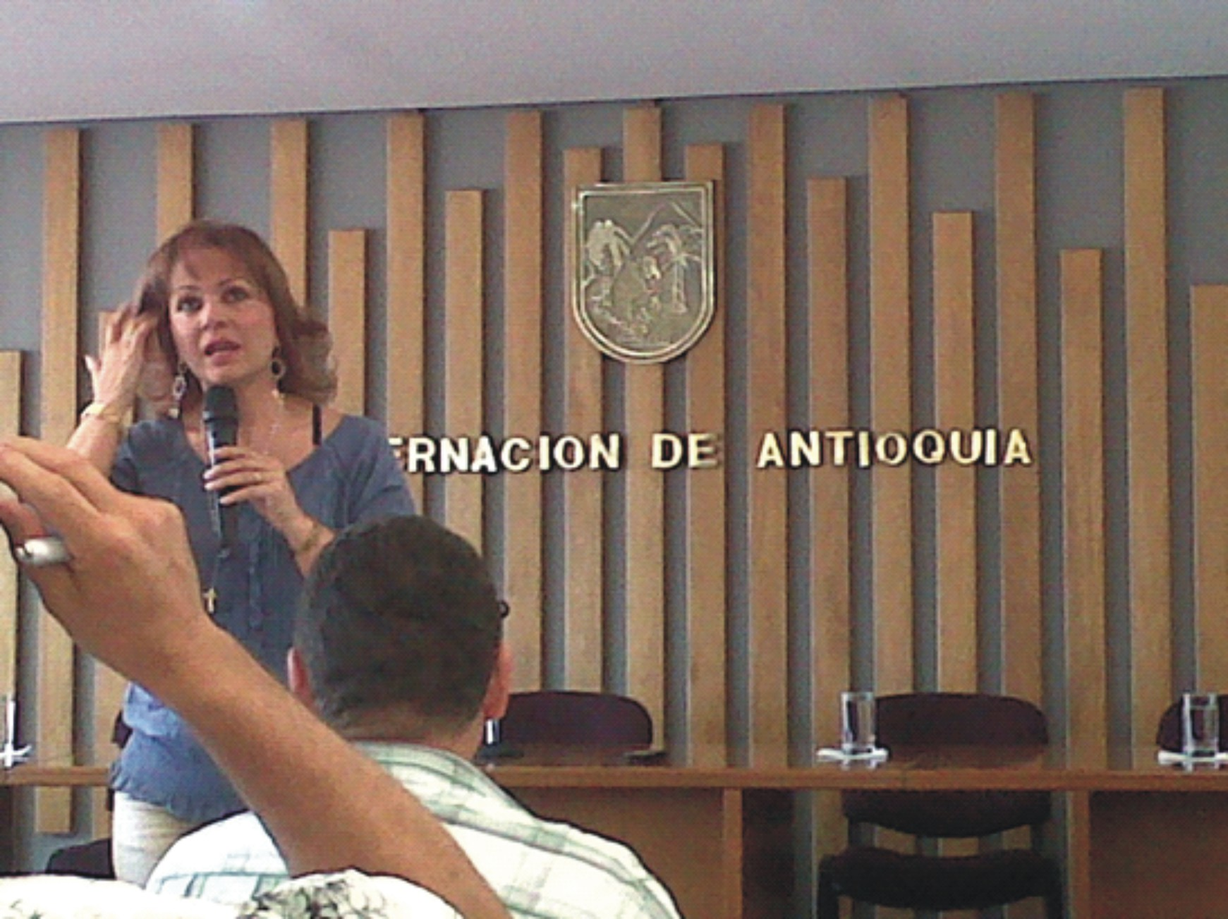 con la secretaria de trnsito departamental