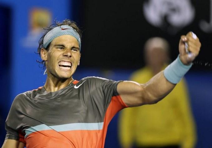 Rafael Nadal hoy en Melbourne (Australia). EFE