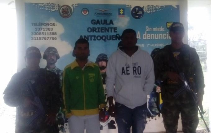 Dos desmovilizados del frente 9 de las farc capturados en Granada 2 Copiar