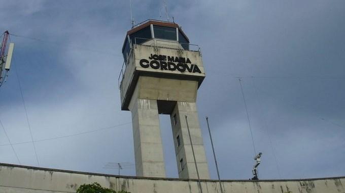 torre de control aeropuerto jose maria cordova app