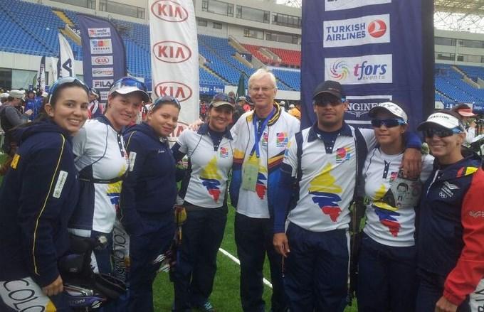 Foto Copa Mundo de Tiro con Arco Medellín 2014