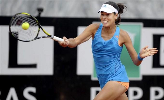 La tenista Serbia, Ana Ivanovic
