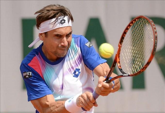 El tenista español, David Ferrer