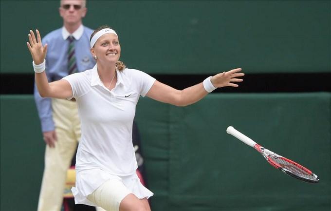 EFE - Kvitova ganó Wimbledon