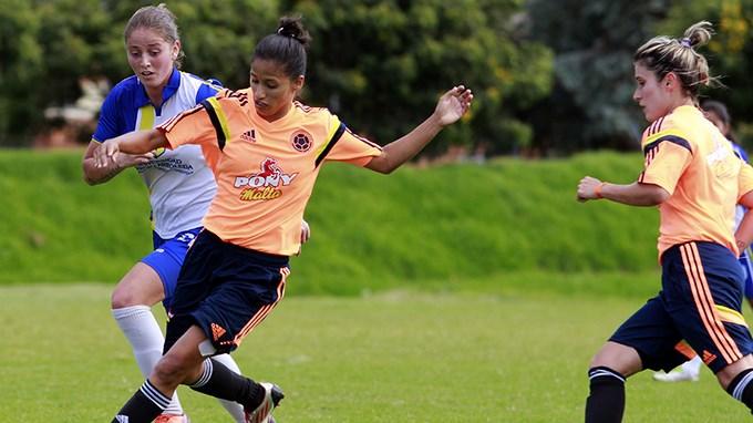 Sel. Colombia femenina - FCF
