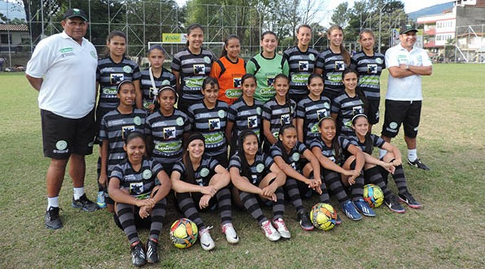 Selección Antioquia Infantil femenina