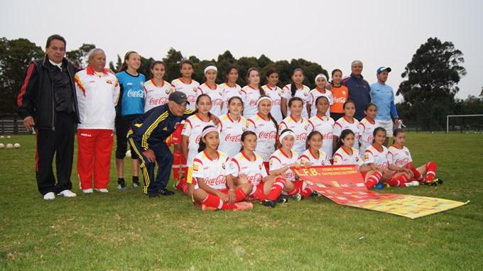 Liga Fútbol Bogotá - Sel. Femenina de Bogotá Infantil