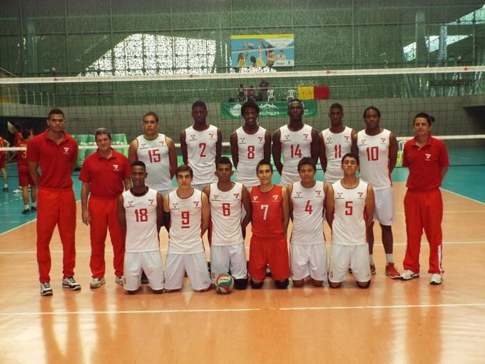 Valle Campeón Nal Voleibol masculino - COC