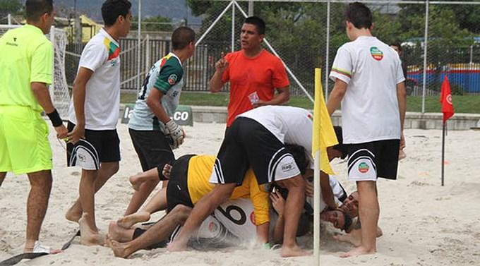 Liga Ant. Fútbol - Itagüí Futsal campeón - Fútbol Playa